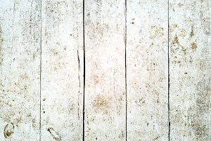 Bleached Wooden Planks