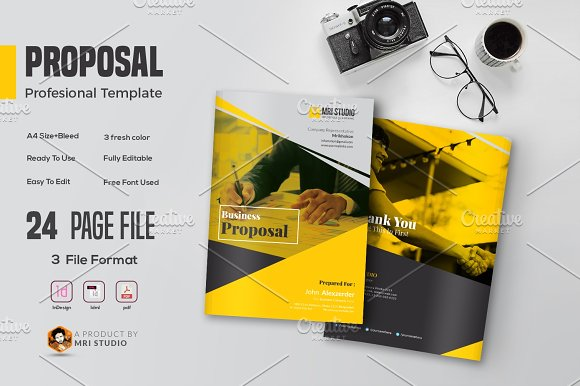 Creative Proposal Template-Graphicriver中文最全的素材分享平台