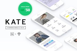 KATE Mobile UI / UX Kit
