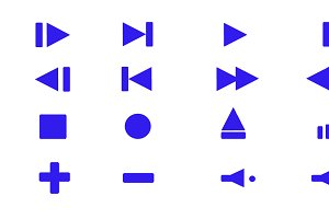 Collection of multimedia symbols