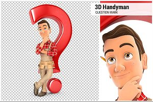 3D Handyman Question Mark