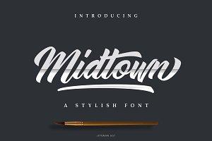 Midtown Font