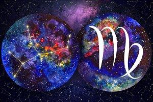 VIRGO & Watercolor Galaxy