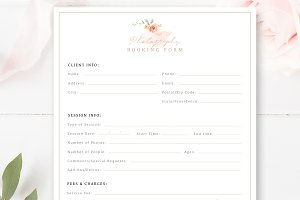 Photography Booking Form