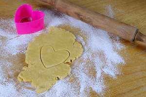 Cookie heart.