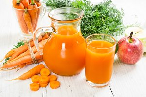 Carrot-apple juice
