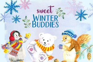 Sweet Winter Buddies BUNDLE
