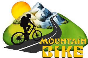 Mountain Bike T-Shirt Artwork