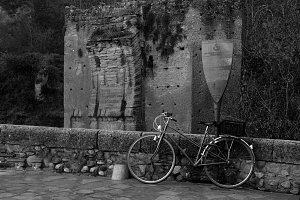 Bicycle in Granada, Spain