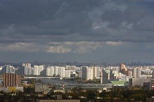 City. Autumn. Moscow.