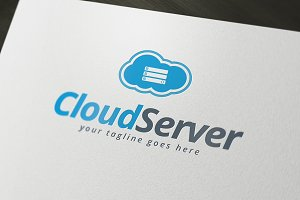 Cloud Server Logo Template