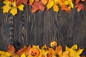 Halloween holiday background