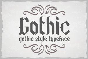 Gothic style otf font