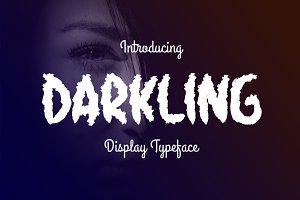 Darkling Typeface