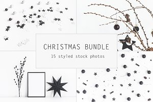 Christmas black bundle