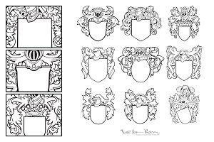 Set of Aristocratic Emblems Vol. I
