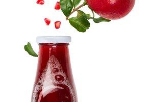 Freshly Squeezed Pomegranate Juice.