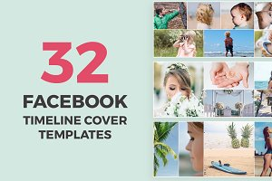 32 Facebook Timeline Cover Templates