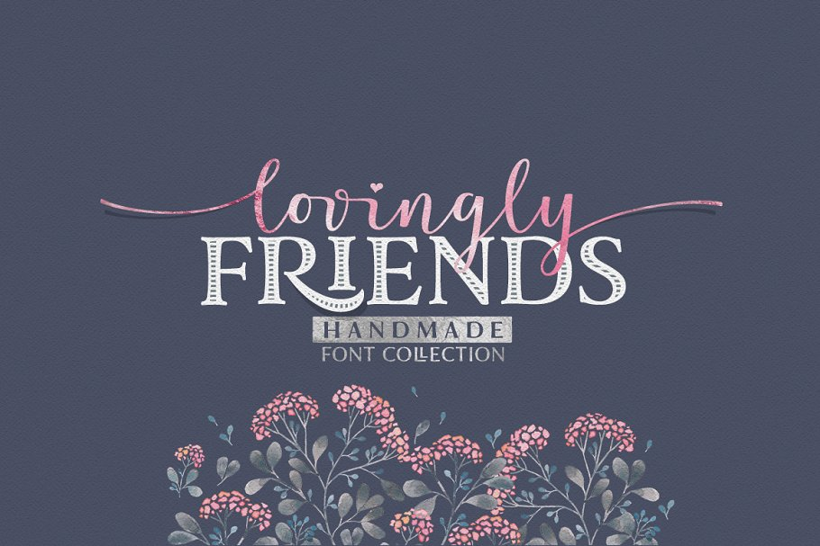 Lovingly Friends Fonts Creative Market