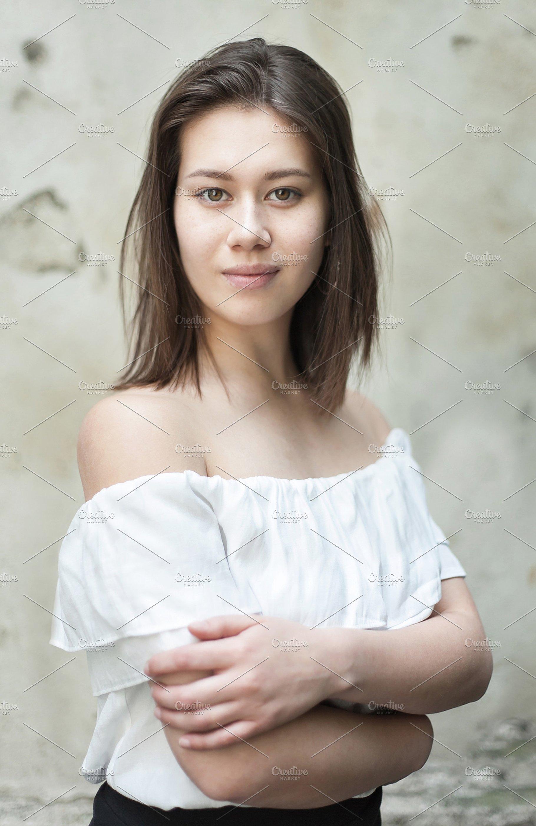 Beautiful Young Half Asian Girl