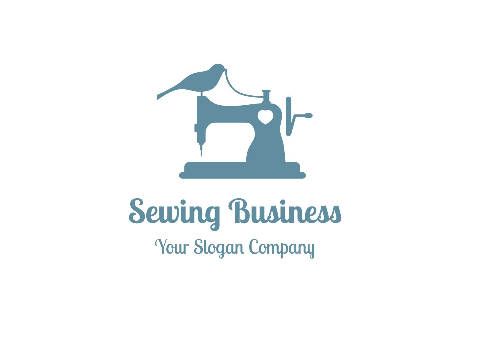 Sewing business logo logo templates creative market flashek Images