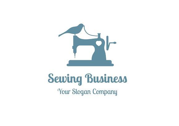 Sewing business logo logo templates creative market sewing business logo accmission Choice Image