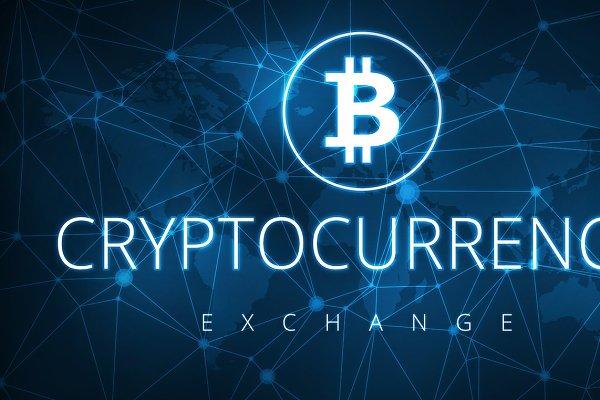 Cryptocurrency exchange futuristic…