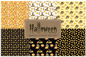 Watercolor Vintage Halloween