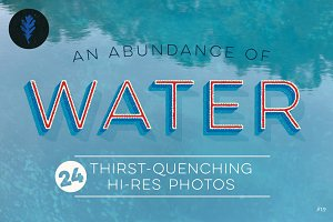 Photo Bundle: An Abundance of Water