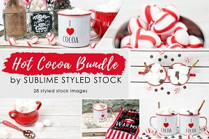 Hot Cocoa~Bundle of Stock Photos