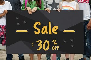 Sale 30% Advertising