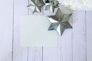Styled Christmas. xmas stock image