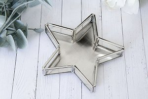 Styled Christmas star