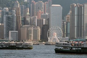 Scene of Hong Kong