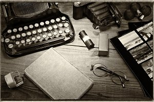 Vintage Photography Still Life