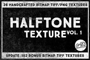 Halftone Texture Vol. 1