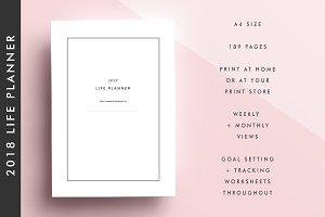 2018 Life Planner Printable