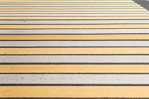 Crosswalk in the city center