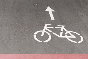 The sign of the cycle track