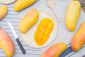 Sweet mango fruit