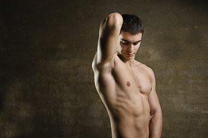 Attarctive fitness latino