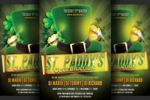 Saint Patrick's Party Flyer Template