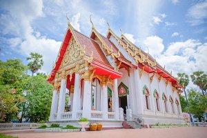 Temple wat Thai style