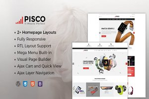 Pisco - WooCommerce WordPress Theme