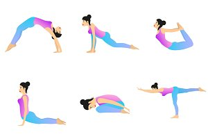Yoga Movement Set.