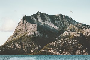 Norway Mountains fjords Landscape