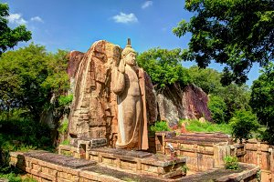 Avukana Buddha image