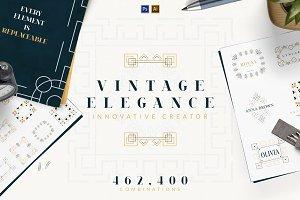 Vintage Elegance Creator -50%