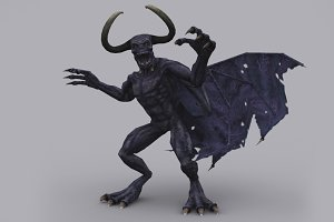 DEMON fbx only