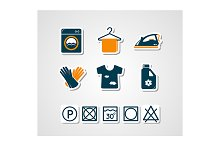 by  in Laundry Icons